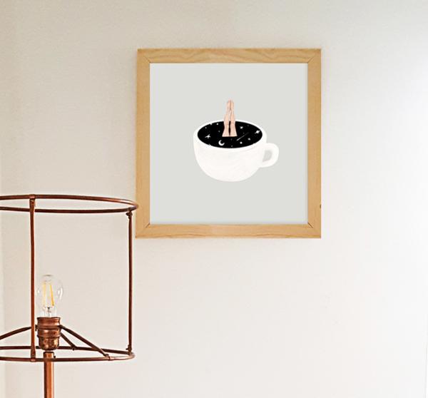 illustrazione-caffe-cornice