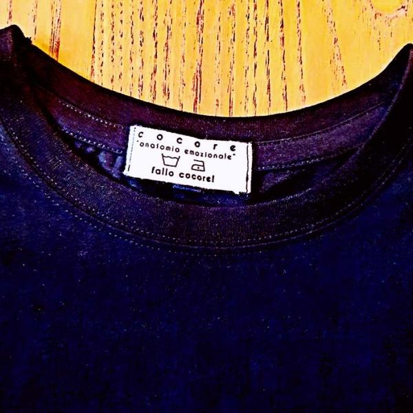 T-shirt Corna Love nera