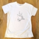 T-shirt Corna Love bianca